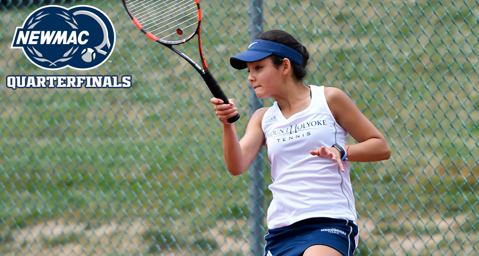 Tennis Advances to NEWMAC Semifinals with Win Over Wheaton