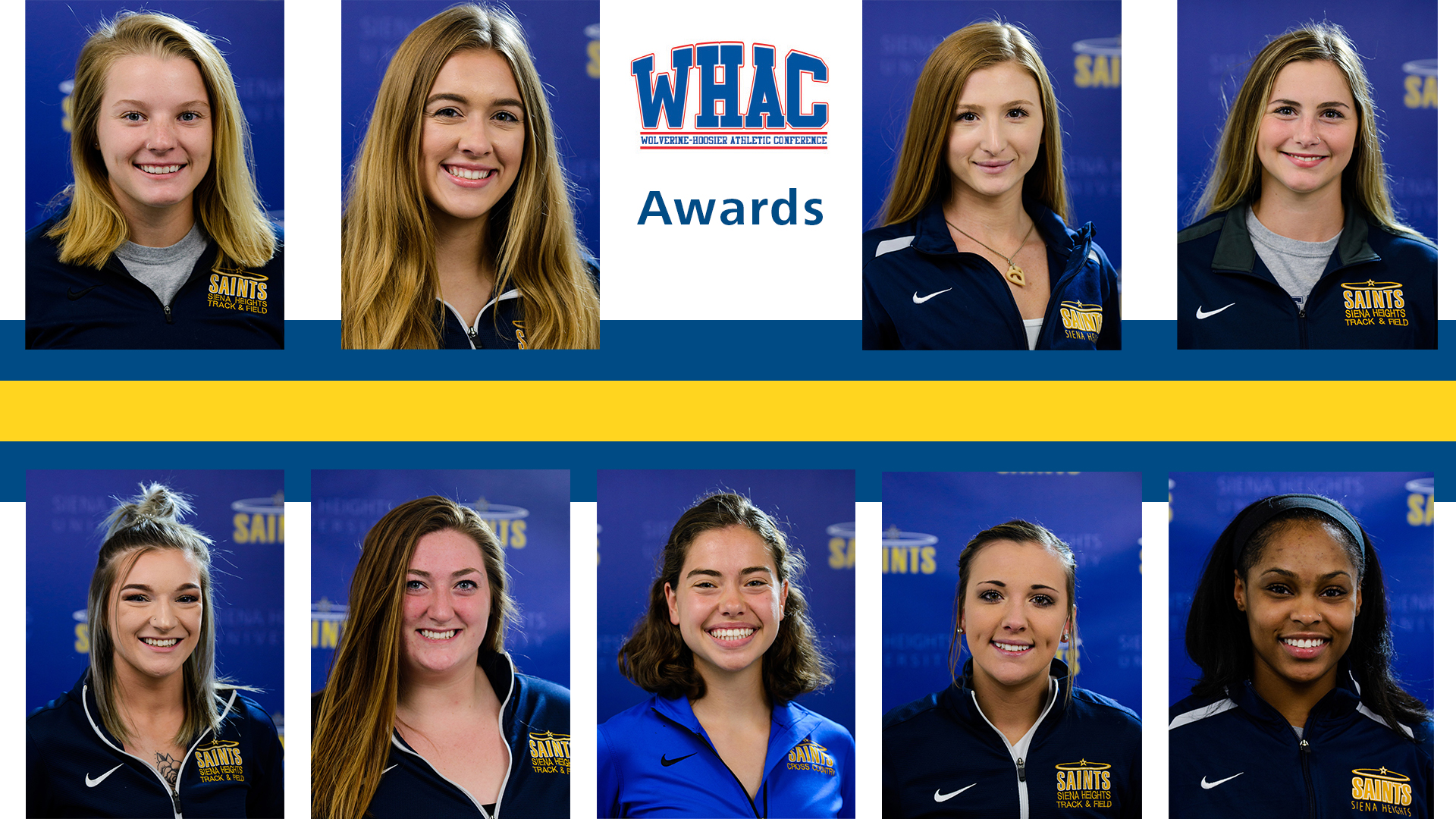 Nine SHU Women's Track and Field Athletes Named in WHAC Awards