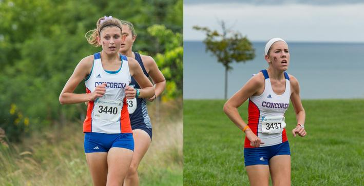Imperl, Scheele lead Women's Cross Country at NACC Championships