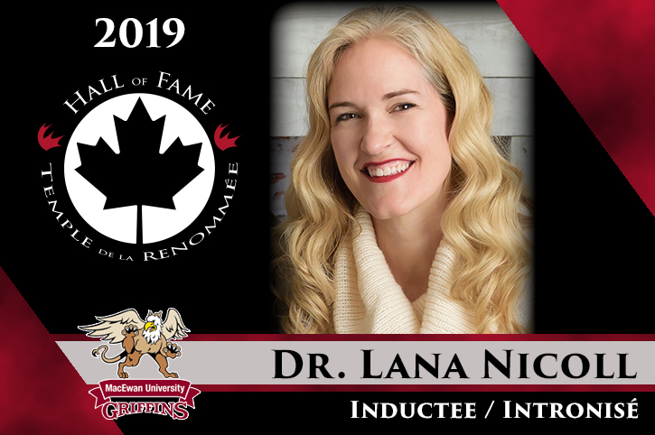 2019 CCAA Hall of Fame Inductee: Dr. Lana Nicoll