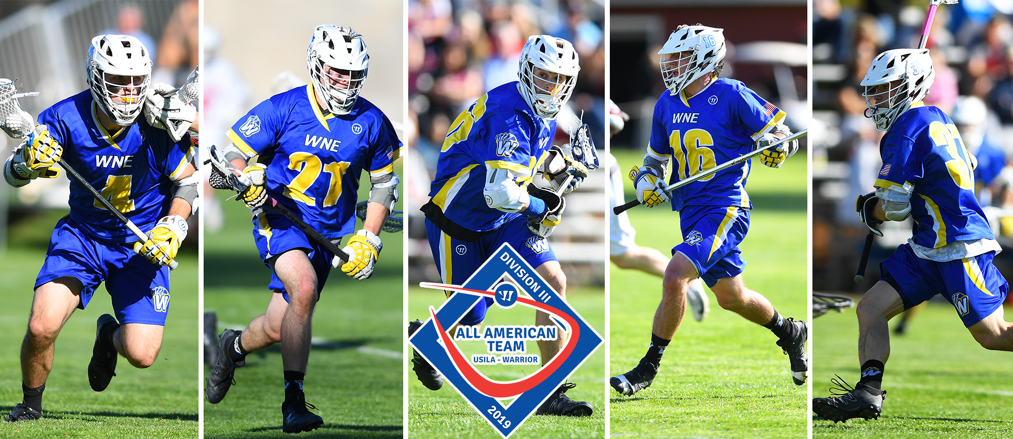 Five Golden Bears Collect USILA All-America Honorable Mention Recognition