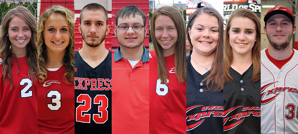 Eight Owens Student-Athletes Earn National Academic Recognition