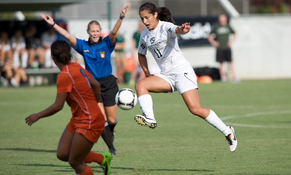 WOMEN'S SOCCER EVENS SEASON RECORD WITH 1-0 WIN OVER FRESNO PACIFIC