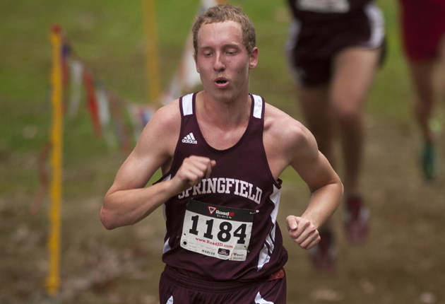 Men's Cross Country Places Seventh at NEWMAC Championships