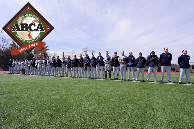 Baseball Honored With Team Academic Excellence Award