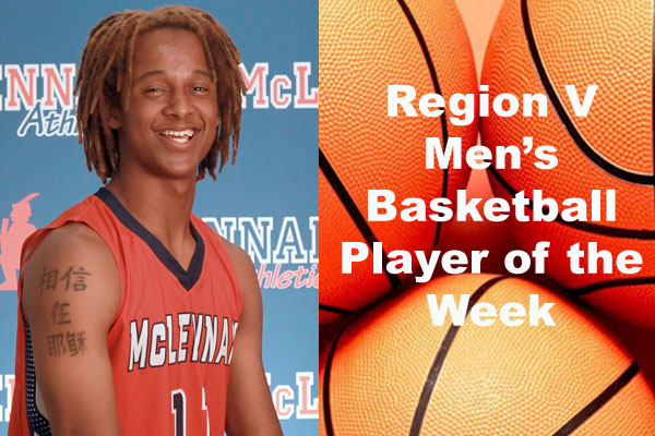 Region V Men's Basketball Player of the Week (Feb. 25 - March 3)