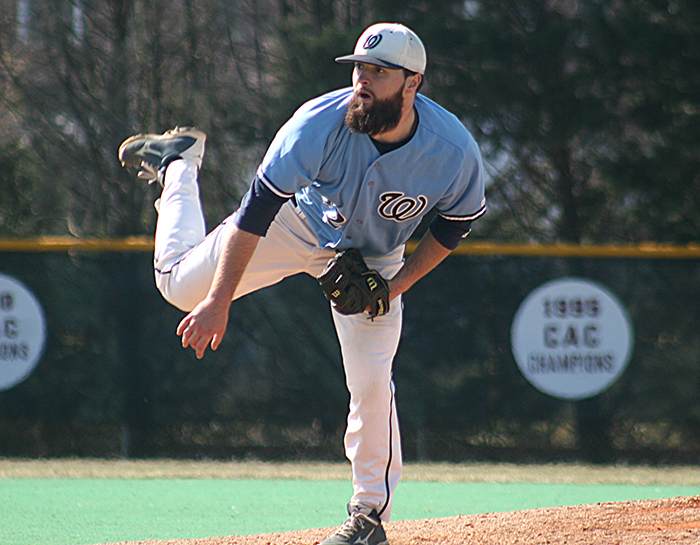 Marrs pitches three-hit shutout against York in CAC Tournament Opener