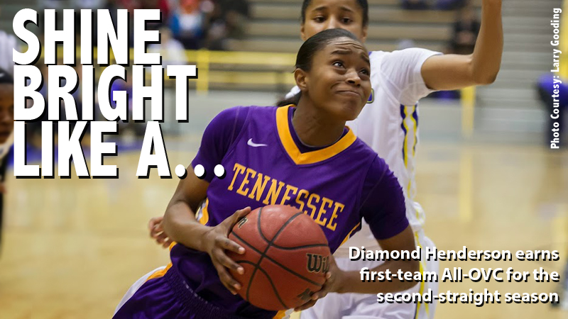 Diamond Henderson selected first-team All-OVC