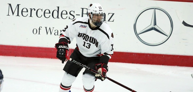 Brown Punches Ticket To Lake Placid Sweeps Quinnipiac Ecac Hockey
