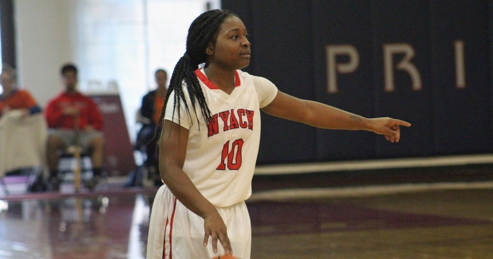 Tayelor McCalister's 20-points help women's basketball to clinch road victory over Georgian Court