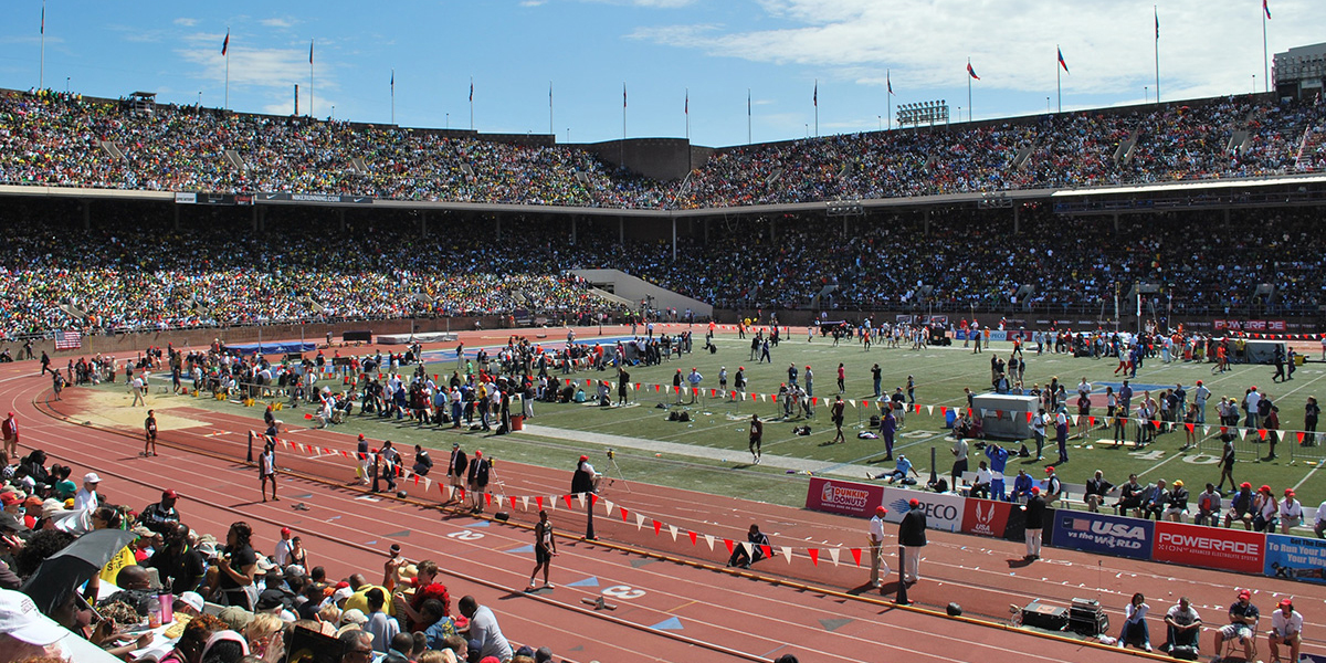 Wesley Track & Field competes at the historic Penn Relays
