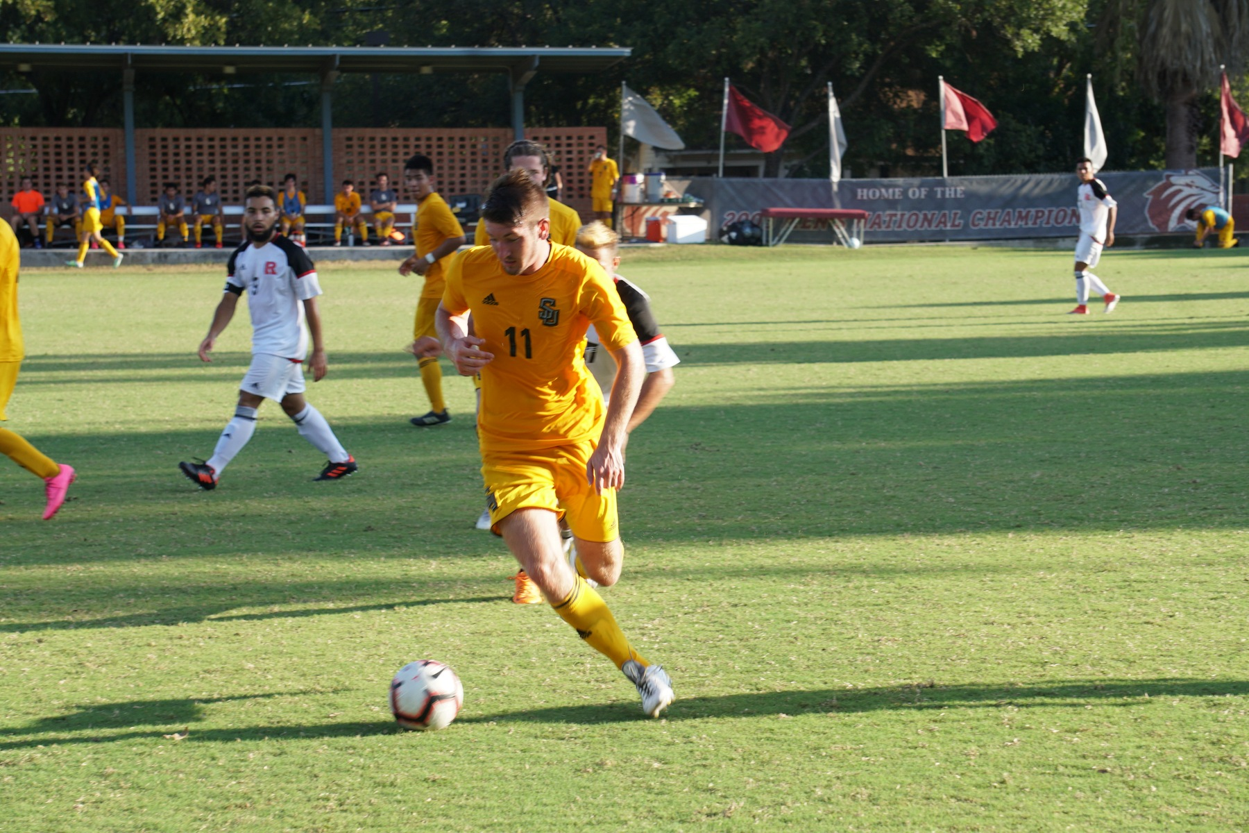 Two Second-Half Goals Cost Men's Soccer Against Dallas