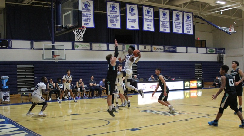 Men's Basketball Rolls Past Combine Preparatory School