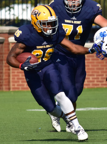Washington and Lee Football Rushes Past Emory & Henry, 49-23, Friday Night In ODAC Opener