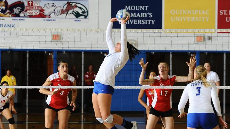 Volleyball Drops Three-Set Match to Dartmouth