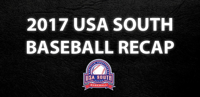 Baseball: Watch USA South's video recap for baseball