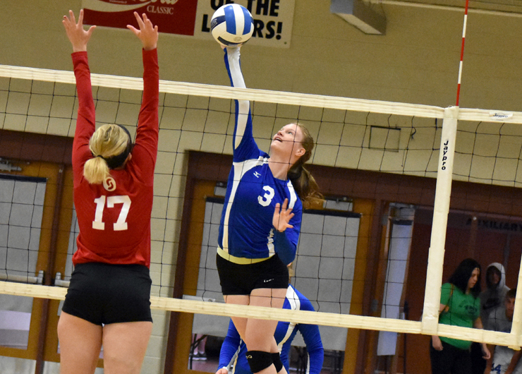 Lakers swept at home by Sinclair, 3-0