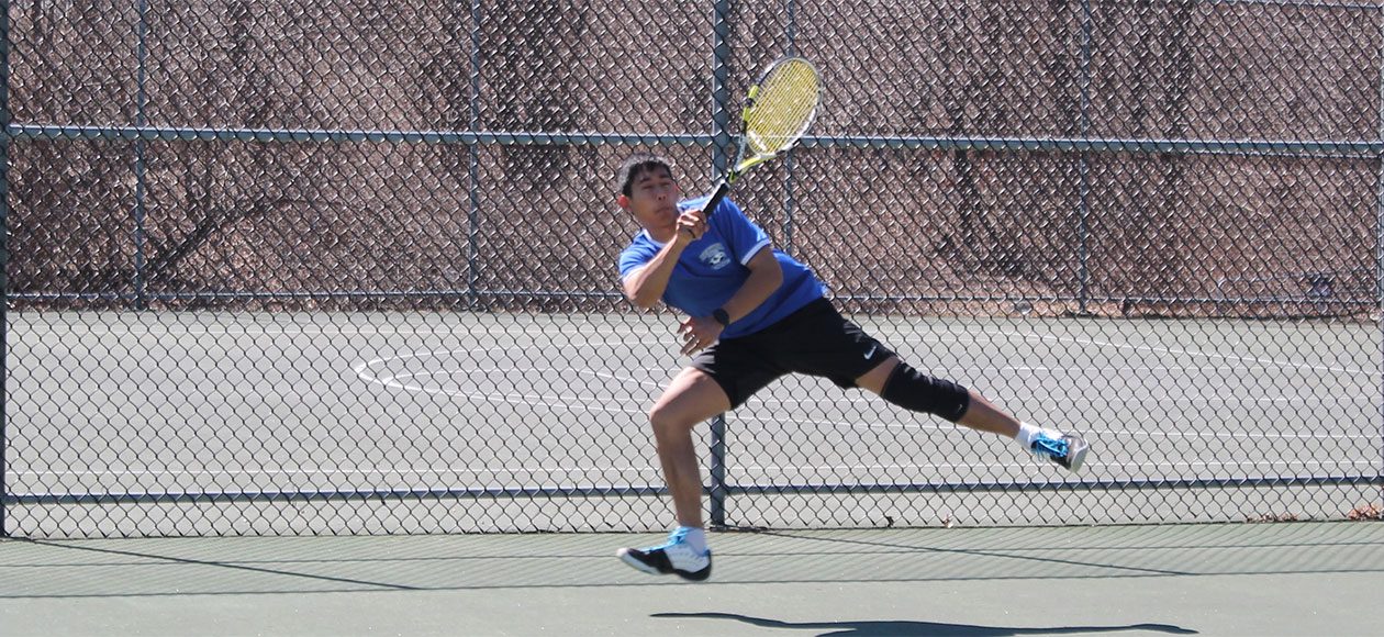 Men's Tennis can't get by Rhode Island College