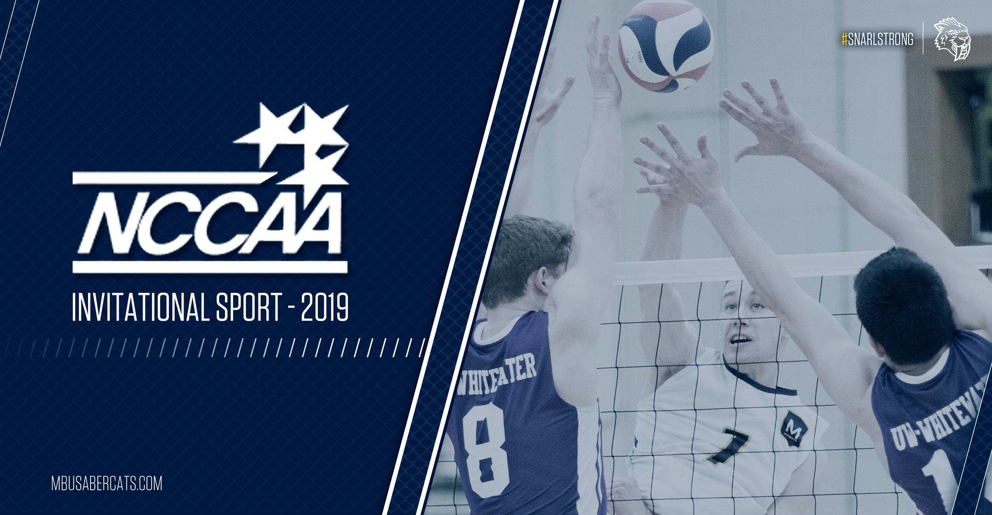 Men's Volleyball Tabbed with NCCAA Invitational Status