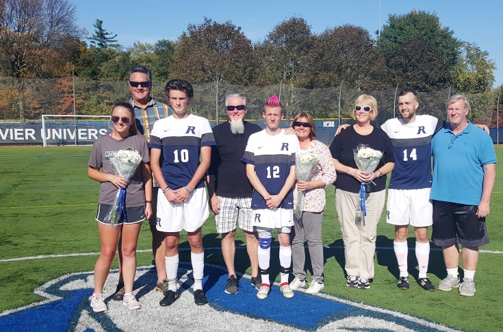Men's Soccer: Raiders honor Seniors against Anna Maria