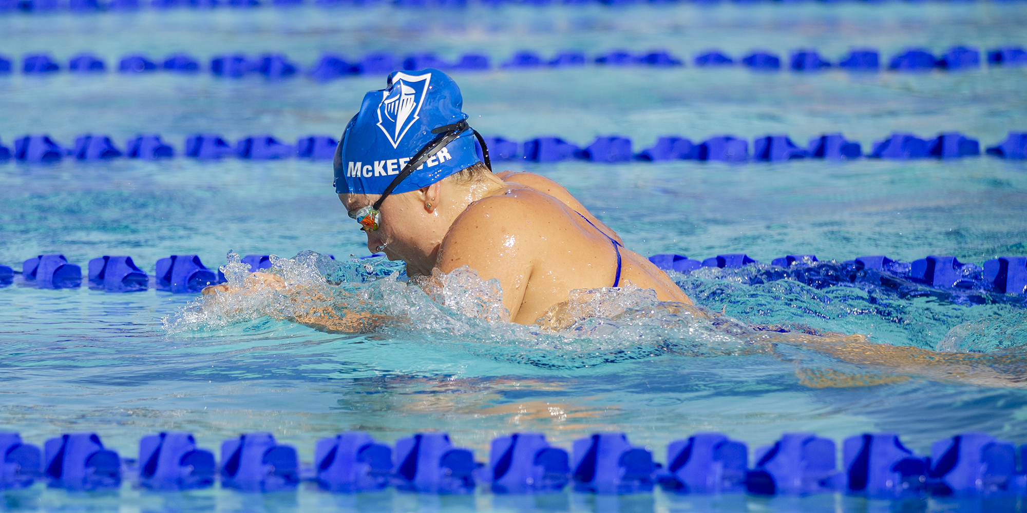 Women's Swimming Off The Blocks in First Home Meet
