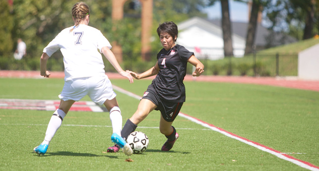 LC Women's Soccer Defeats Guilford 5-0