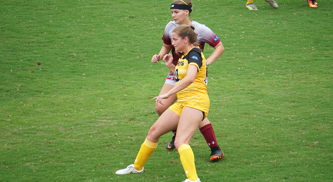 Ewton Scores Last Minute Goal to Steal Win Over Mountaineers