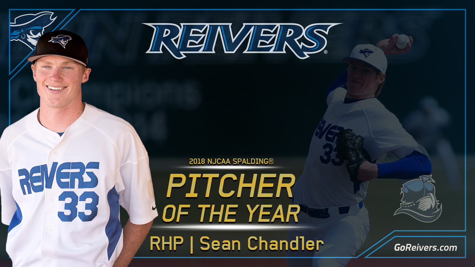 Chandler named NJCAA Pitcher of the Year