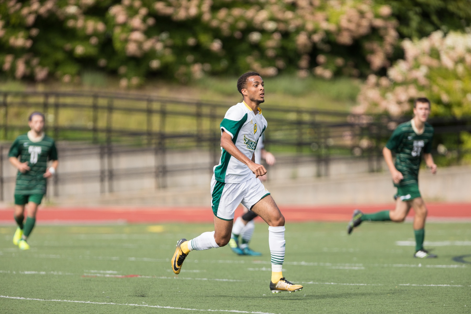 Falcons Soar Past Raiders in Men's Soccer, 2-1