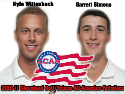 Two Ferris State Men's Golf Student-Athletes Honored As All-America Scholars