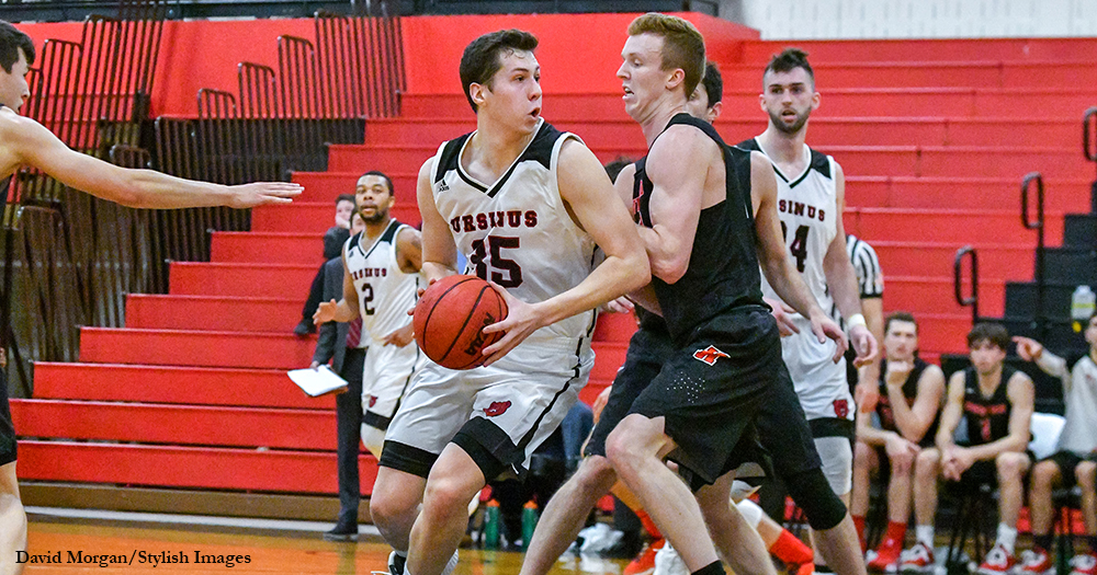 McTamney Leads Men's Hoops Past Washington