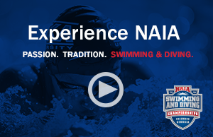 NAIA Swim Dive Championships Video