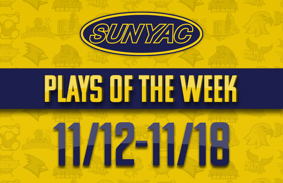 SUNYAC Winter Plays of the Week - Nov. 12-18