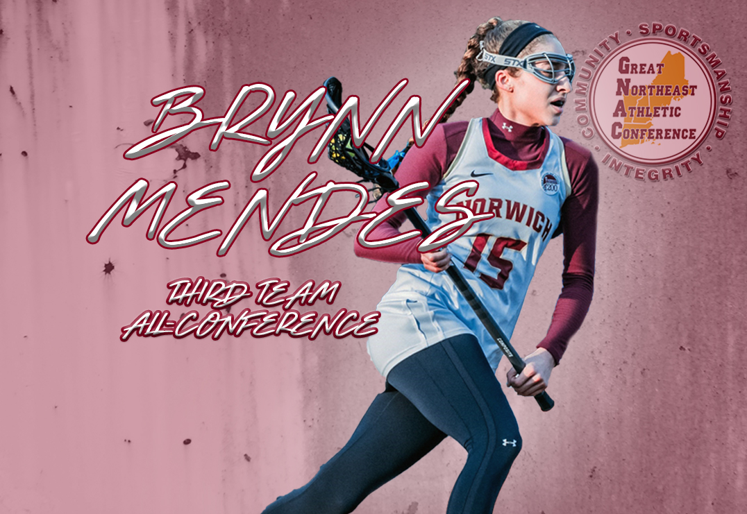Women's Lacrosse: Brynn Mendes earns All-Conference honors