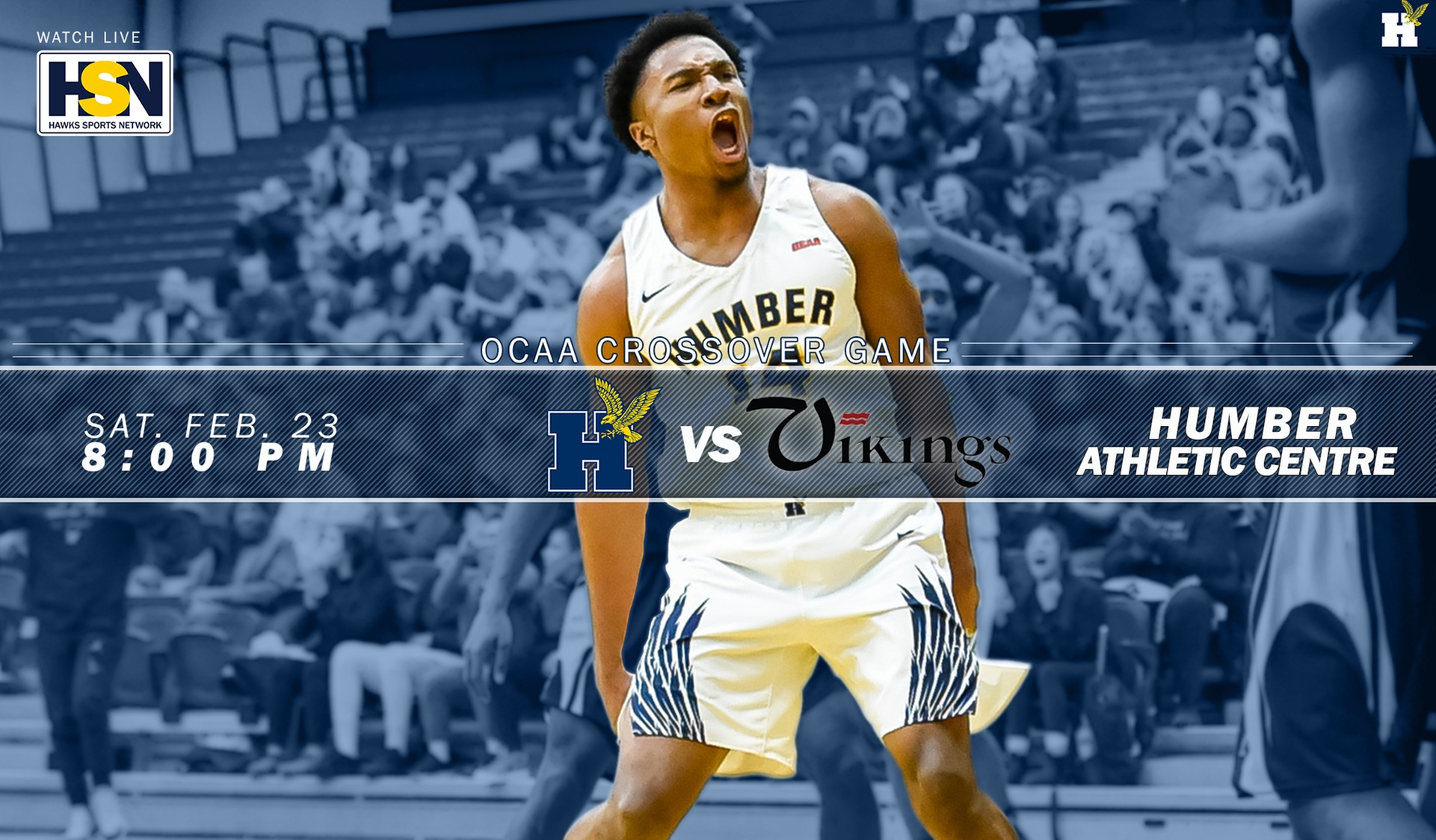 No. 5 HUMBER SET TO HOST ST. LAWRENCE IN CROSSOVER GAME SATURDAY