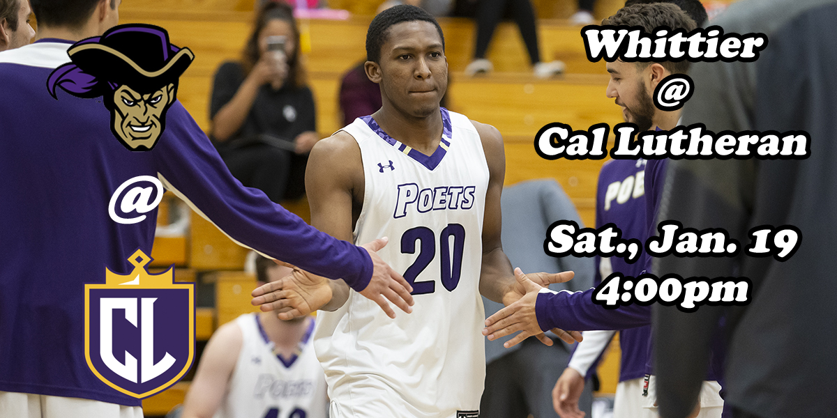 MBB: Whittier vs. California Lutheran (By the Numbers)