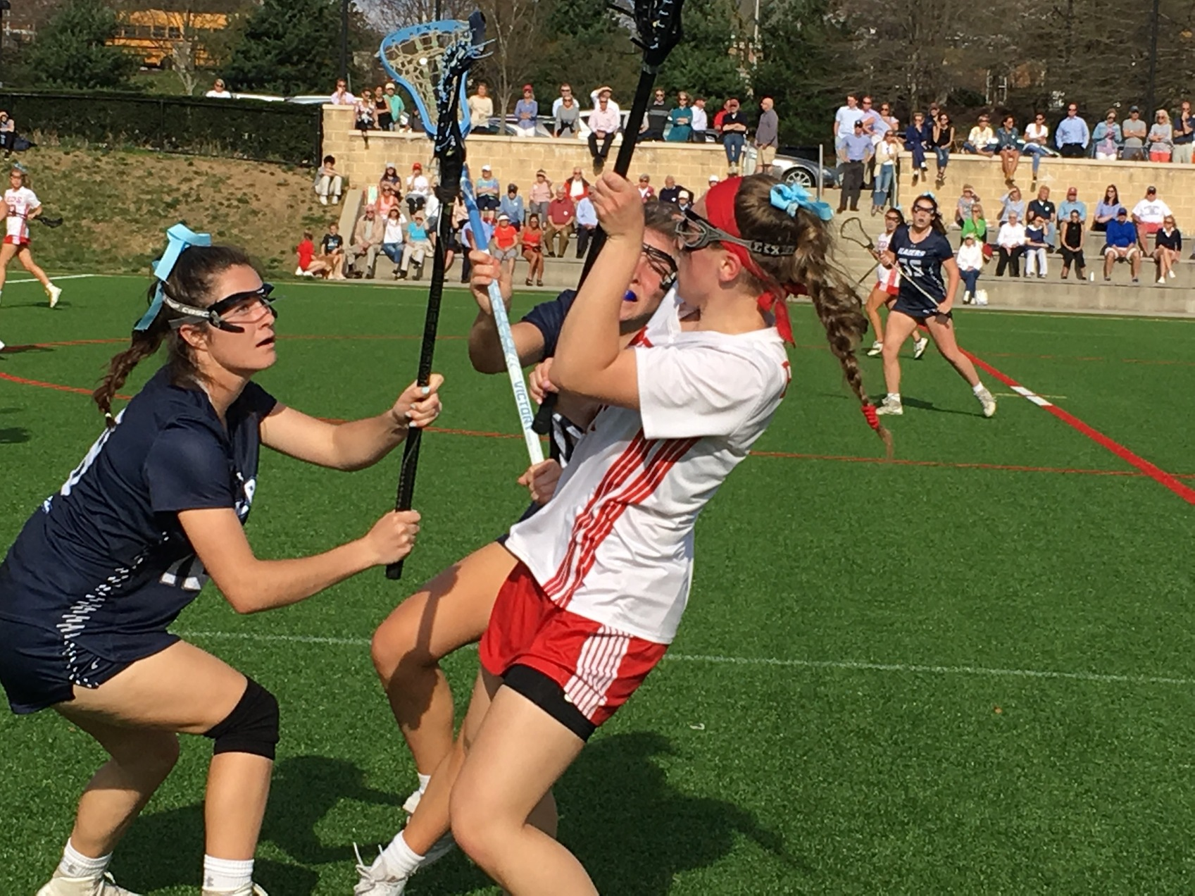 NDP still unbeaten in A Conference lax after edging Roland Park