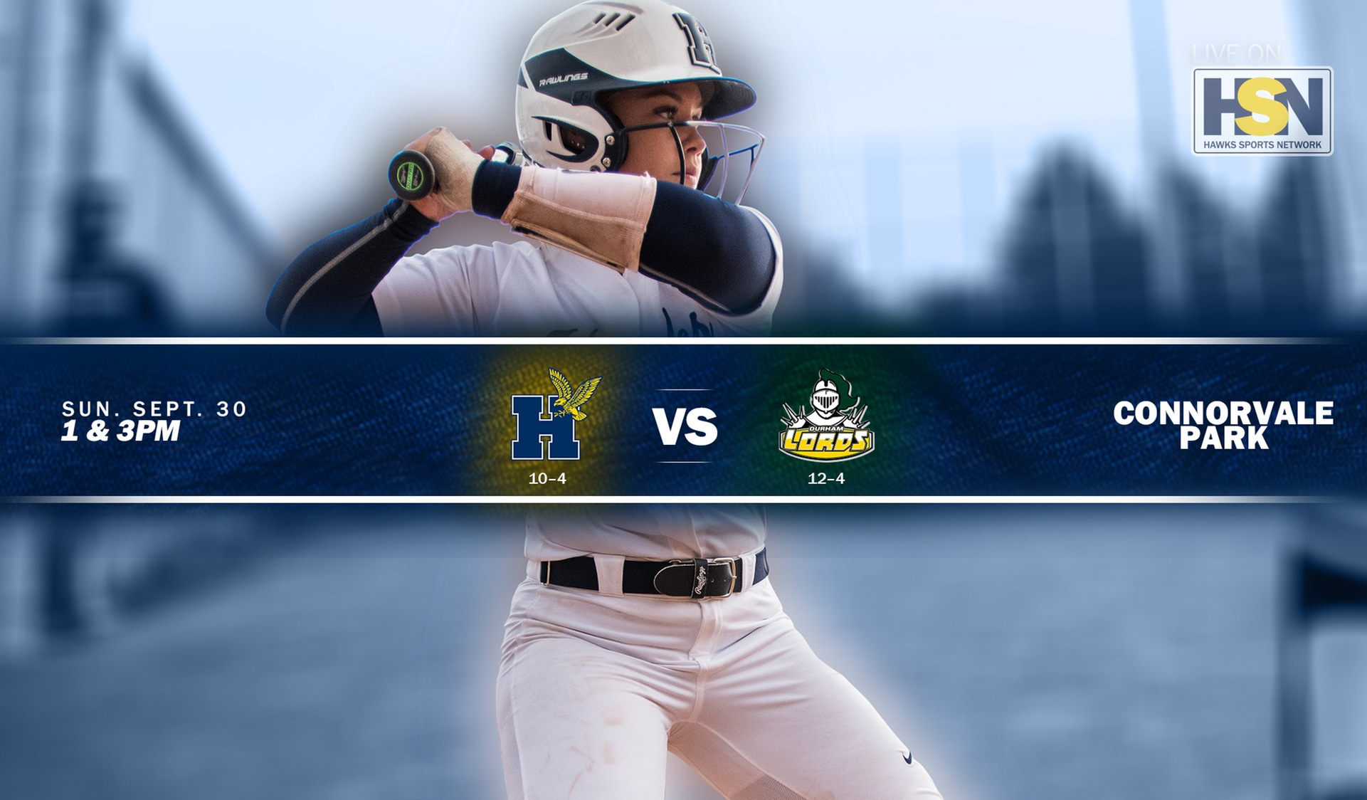 HAWKS HOST DEFENDING CHAMPS FROM DURHAM IN KEY MATCH-UP ON SUNDAY AT HOME