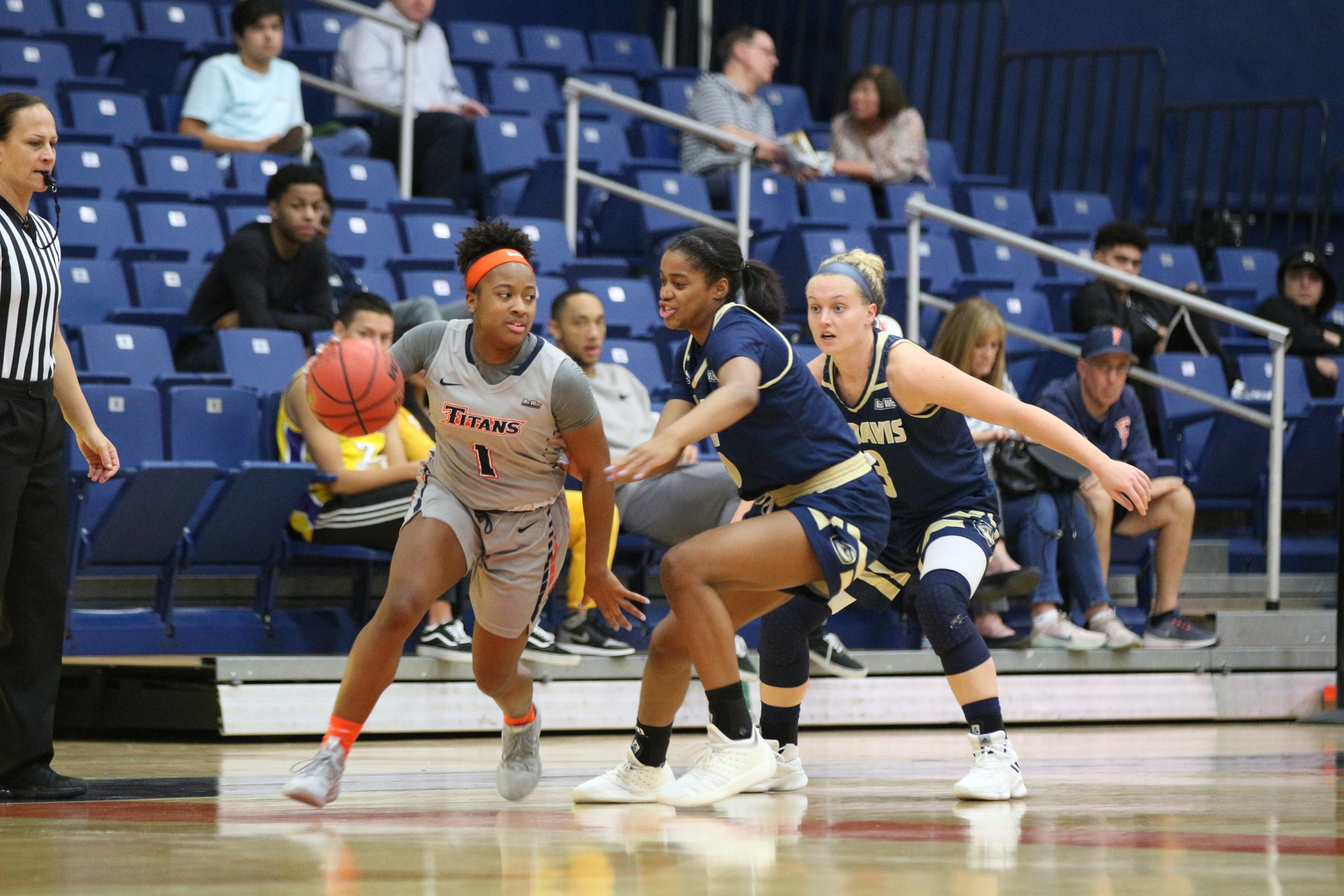 Vega Collects 1,000th Career Point in Loss to UC Davis