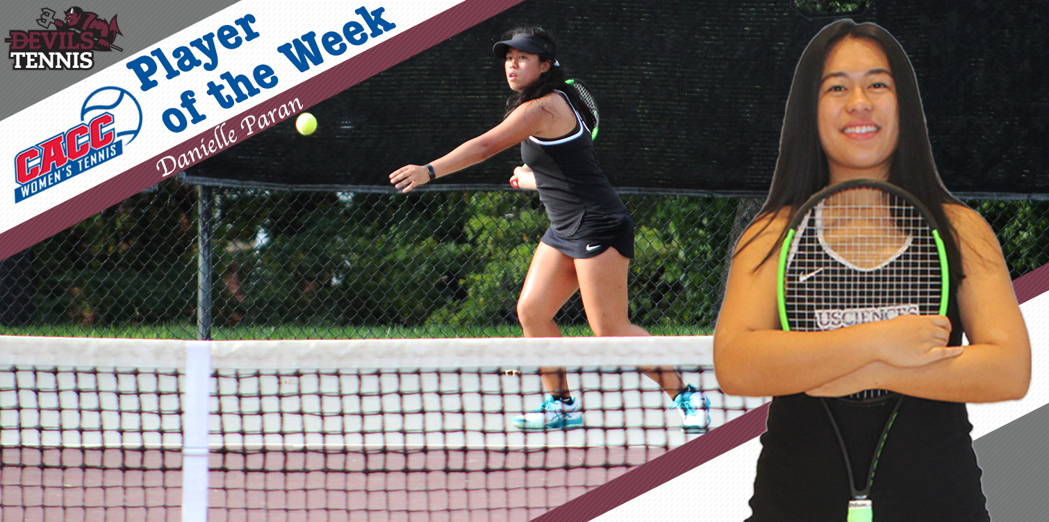 Paran Wins First Career CACC Women's Tennis Player of the Week Award