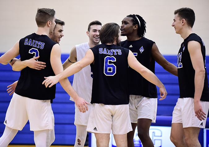 Safley Leads No. 6 Saints in Sweep Over Ramapo at Cairn in Road Finale