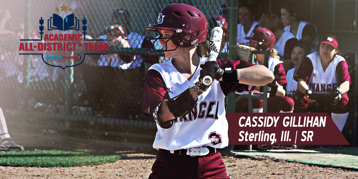 Cassidy Gillihan Earns CoSIDA Academic All-District Accolades