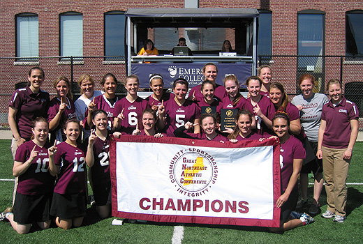Women's Lacrosse: Norwich Beats Emerson, 13-6, To Claim GNAC Championship