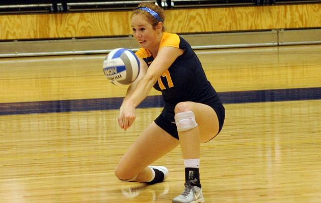 Cobra Volleyball Begins Three-Match Home Stand with Nationally Ranked Wingate