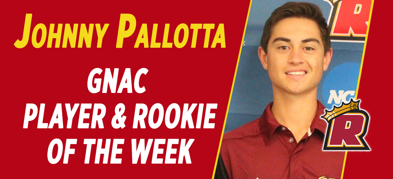 Pallotta Named GNAC Player and Rookie of the Week