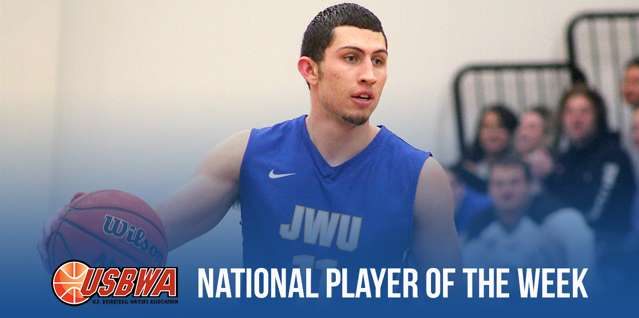 J&W's Romero III Selected USBWA Division III National Player of the Week
