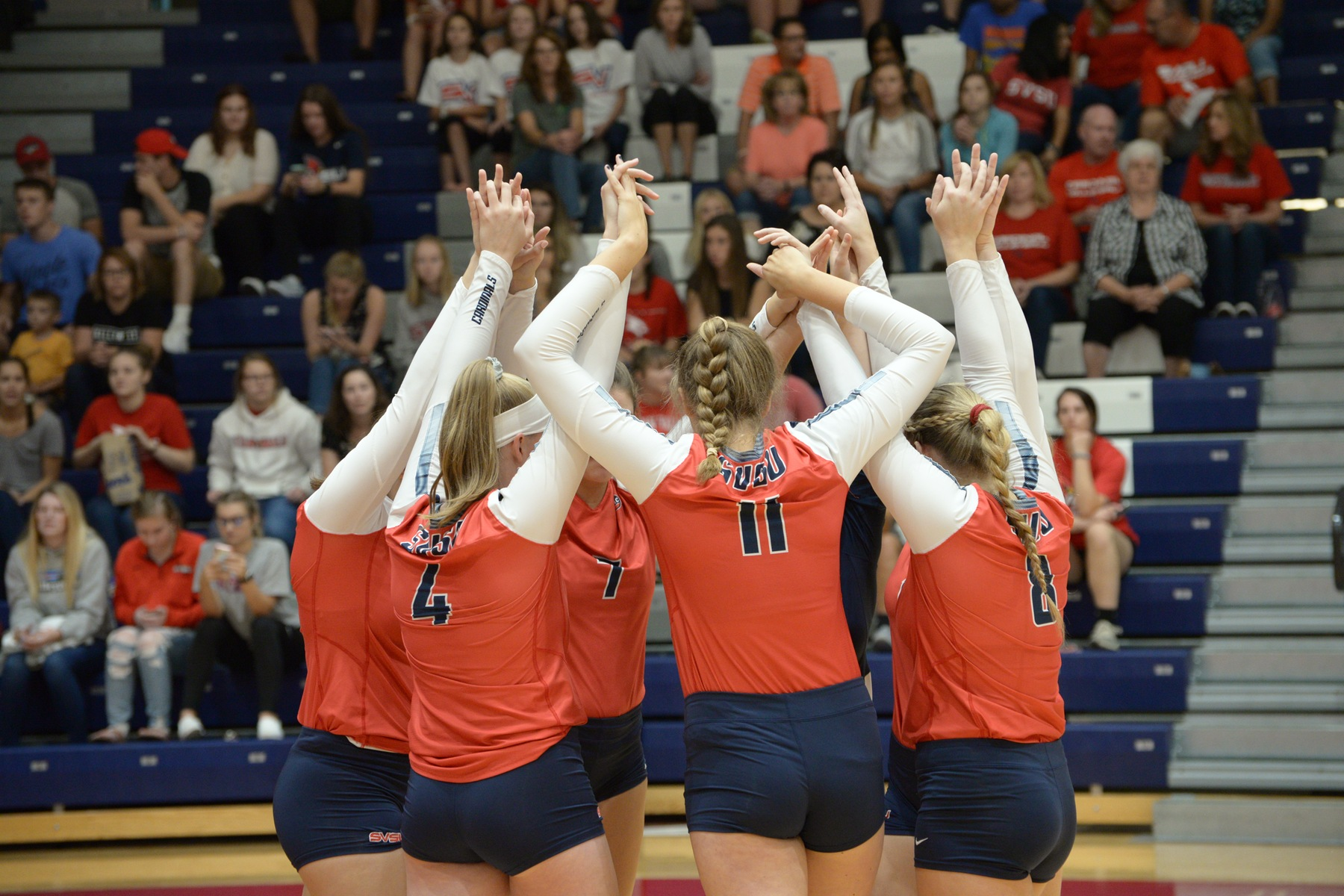 Cardinals Defeat Wildcats in Exciting Five Set Match