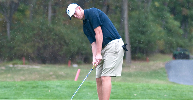 Golfers Tie for 5th at Moravian Spring Invitational to Start 2012