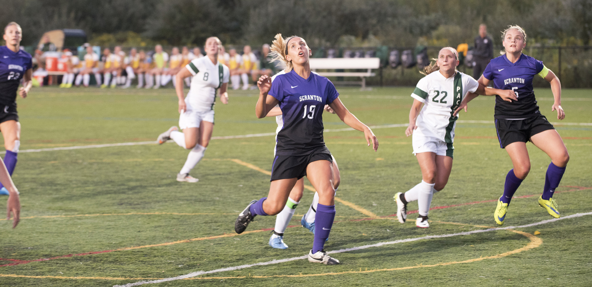 Sophomore forward Jamie Hreniuk scored twice, including the game-winner in overtime, on Saturday at Susquehanna.