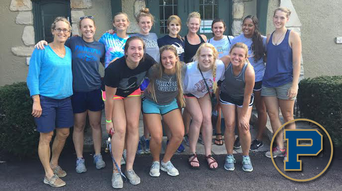 "Principia Volleyball Serves Up ""Week of Giving"""